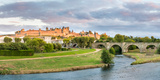 Cite De Carcassonne Seen from Pont Neuf, Carcassonne, Aude, Languedoc-Roussillon, France Photographic Print by  Panoramic Images