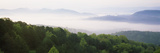 Fog over Valley, Great Smoky Mountains National Park, Tennessee, USA Photographic Print by  Panoramic Images