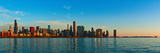Skyscrapers at the Waterfront, Lake Michigan, Chicago, Illinois, USA Photographic Print by  Panoramic Images