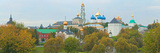Monastery and Cathedral in a City, Trinity Lavra of St. Sergius, Sergiyev Posad, Moscow, Russia Photographic Print by  Panoramic Images