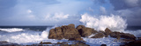 Waves Breaking on the Coast, Saint Guenole, Finistere, Brittany, France Photographic Print by  Panoramic Images