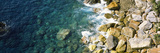 Rocks on the Coast, Corniglia, Cinque Terre, Liguria, Italy Photographic Print by  Panoramic Images