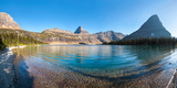 Hidden Lake in Late Afternoon, Glacier National Park, Montana, USA Photographic Print by  Panoramic Images
