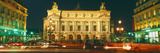 Facade of an Opera House, Palais Garnier, Paris, France Photographic Print by  Panoramic Images