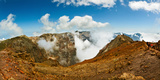 Mountain Peak Surrounded with Clouds, Caldera De Taburiente National Park, La Palma Photographic Print by  Panoramic Images