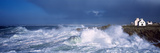 Waves Breaking on the Coast, Saint-Guenole, Finistere, Brittany, France Photographic Print by  Panoramic Images