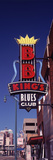 Low Angle View of a Signboard of a Restaurant, B.B. King's Blues Club, Beale Street, Memphis Photographic Print by  Panoramic Images