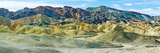 Mountain Range, Twenty Mule-Team Canyon, Death Valley, Death Valley National Park, California, USA Photographic Print by  Panoramic Images