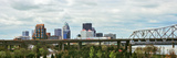 Bridge with Skyline in the Background, John F. Kennedy Memorial Bridge, Louisville, Kentucky, USA Photographic Print by  Panoramic Images