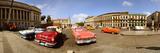 Old Cars on Street, Havana, Cuba Photographic Print by  Panoramic Images