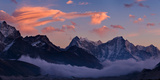 Snowcapped Mountains, Dudh Kosi, Solukhumbu, Himalayas, Nepal Photographic Print by  Panoramic Images