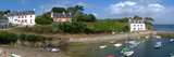 Village on an Island, Port Lay, Groix, Morbihan, Brittany, France Photographic Print by  Panoramic Images