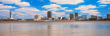 Skyscrapers at the Waterfront, Louisiana State Capitol Building, Baton Rouge, Louisiana, USA Photographic Print by  Panoramic Images