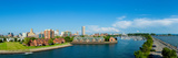 Erie Basin Marina with City at the Waterfront, Buffalo, Erie County, New York State, USA Photographic Print by  Panoramic Images