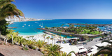 High Angle View of a Beach, Anfi Del Mar, Playa De La Verga, Gran Canaria, Spain Photographic Print by  Panoramic Images
