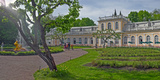 Garden Outside Peterhof Grand Palace, St. Petersburg, Russia Photographic Print by  Panoramic Images
