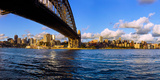 Sydney Harbour Bridge with City at Waterfront, Sydney, New South Wales, Australia Photographic Print by  Panoramic Images