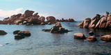 Palombaggia Beach and Rocks, Corsica, France Photographic Print by  Panoramic Images