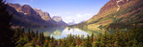 Lake Surrounded by Mountains, St. Mary Lake, Glacier National Park, Montana, USA Photographic Print by  Panoramic Images