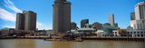 Skyscrapers at the Waterfront, Trade Mart Tower, River Mississippi, New Orleans, Louisiana, USA Photographic Print by  Panoramic Images