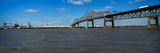 Bridge across a River, Horace Wilkinson Bridge, Mississippi River, Baton Rouge, Louisiana, USA Photographic Print by  Panoramic Images