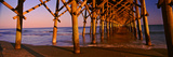 Pier over the Ocean, Folly Beach Fishing Pier, Folly Beach, Folly Island, Charleston County Photographic Print by  Panoramic Images