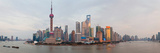 Buildings at the Waterfront, Pudong, Huangpu River, Shanghai, China Photographic Print by  Panoramic Images