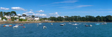 Village of Larmor-Baden, Gulf of Morbihan, Morbihan, Brittany, France Photographic Print by  Panoramic Images