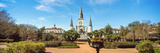 Garden of the St. Louis Cathedral, Jackson Square, French Quarter, New Orleans, Louisiana, USA Photographic Print by  Panoramic Images