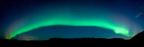 Aurora Borealis or Northern Lights, Vik I Myrdal, Iceland Photographic Print by  Panoramic Images