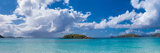 Clouds over the Sea, Cinnamon Bay, St. John, Us Virgin Islands Photographic Print by  Panoramic Images