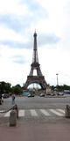 Eiffel Tower, Paris,Ile-De-France, France Photographic Print by  Panoramic Images
