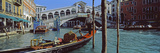 Rialto Bridge over the Grand Canal, Venice, Veneto, Italy Photographic Print by  Panoramic Images