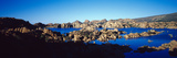 Rock Formations at Lake, Granite Dells, Prescott, Arizona, USA Photographic Print by  Panoramic Images