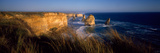 Rock Formations at Coast, Twelve Apostles, Port Campbell National Park, Victoria, Australia Photographic Print by  Panoramic Images