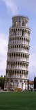 Low Angle View of a Tower, Leaning Tower of Pisa, Piazza Dei Miracoli, Pisa, Tuscany, Italy Fotografisk trykk av Panoramic Images,