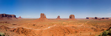 Rock Formations in a Desert, Monument Valley Tribal Park, Arizona, USA Photographic Print by  Panoramic Images