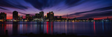Reflection of Skyscrapers on Water, River Mississippi, New Orleans, Louisiana, USA Photographic Print by  Panoramic Images