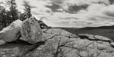 Trees and Boulders Along the Gertrude's Nose, Minnewaska State Park, Catskill Mountains Photographic Print by  Panoramic Images