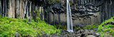 Waterfall, Svartifoss Waterfall, Skaftafell National Park, Iceland Photographic Print by  Panoramic Images