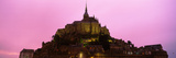 Cathedral on an Island, Mont Saint-Michel, Normandy, France Photographic Print by  Panoramic Images