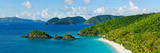 Islands in the Sea, Trunk Bay, St. John, Us Virgin Islands Photographic Print by  Panoramic Images