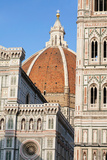 Duomo Santa Maria Del Fiore and Giotto's Campanile in Florence, Tuscany, Italy Photographic Print by  Panoramic Images