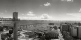 Buildings on the Coast, Lacerda Elevator, Pelourinho, Salvador, Bahia, Brazil Photographic Print by  Panoramic Images