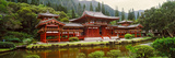 Facade of Byodo-In Temple, Valley of the Temples, Oahu, Hawaii, USA Photographic Print by  Panoramic Images
