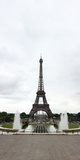 Fountain in Front of Eiffel Tower, Paris,Ile-De-France, France Photographic Print by  Panoramic Images