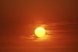 Sun at Sunset Photographic Print
