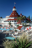 Hotel Coronado in San Diego, California Photographic Print