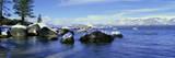 Lake Tahoe in Wintertime, Nevada Photographic Print