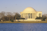 Jefferson Memorial from Offshore Photographic Print